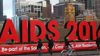 Die Welt-Aids-Konferenz fand im australischen Melbourne statt