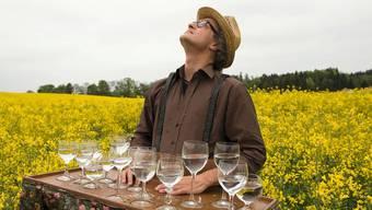 Komiker Jürg Kienberger tritt mit «Ich Biene - ergo summ» im TaB auf.