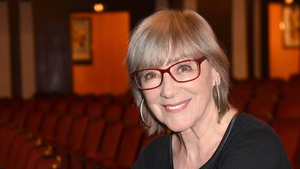 Die Schauspielerin Heidelinde Weis kommt zur Theaterpremiere «Josef und Maria» in der Komödie im Bayerischen Hof. Am 17.09.2020 feiert Weis ihren 80. Geburtstag.