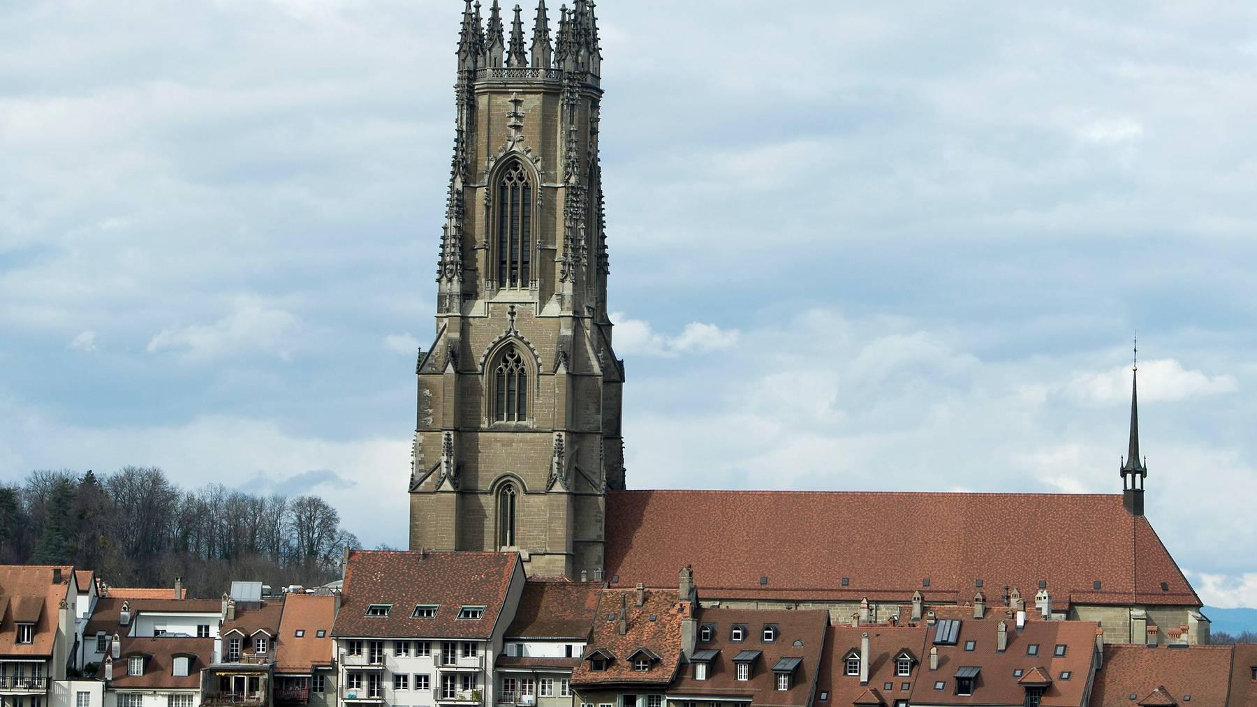 In der Freiburger Kathedrale hat der Angeschuldigte bis am Dienstag als Pfarrer gewirkt.