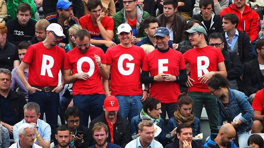 Roger Federer versucht an den Olympischen Spielen, dem Rummel um seine Person auszuweichen