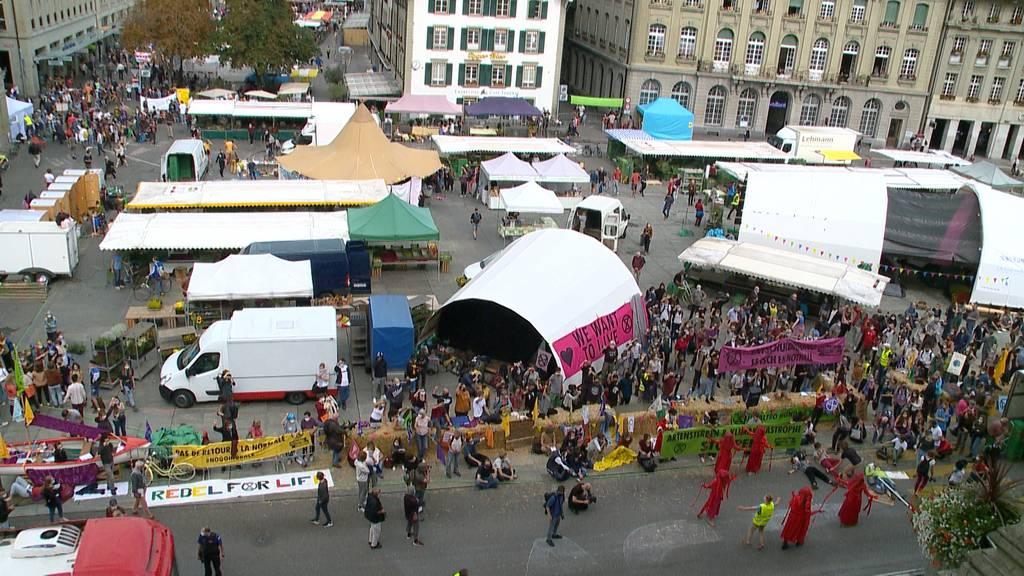 Stadt Bern stellt Klimaaktivisten letztes Ultimatum