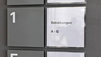 In der Zentralschweiz stagnierte die Zahl der Betreibungen