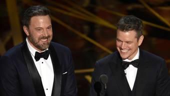 """Nach Oscar zu """"Good Will Hunting"""": Ben Affleck (links) und Matt Damon (rechts) starten ein neues gemeinsames Filmprojekt."""