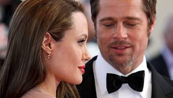 Angelina Jolie und Brad Pitt (Archiv)