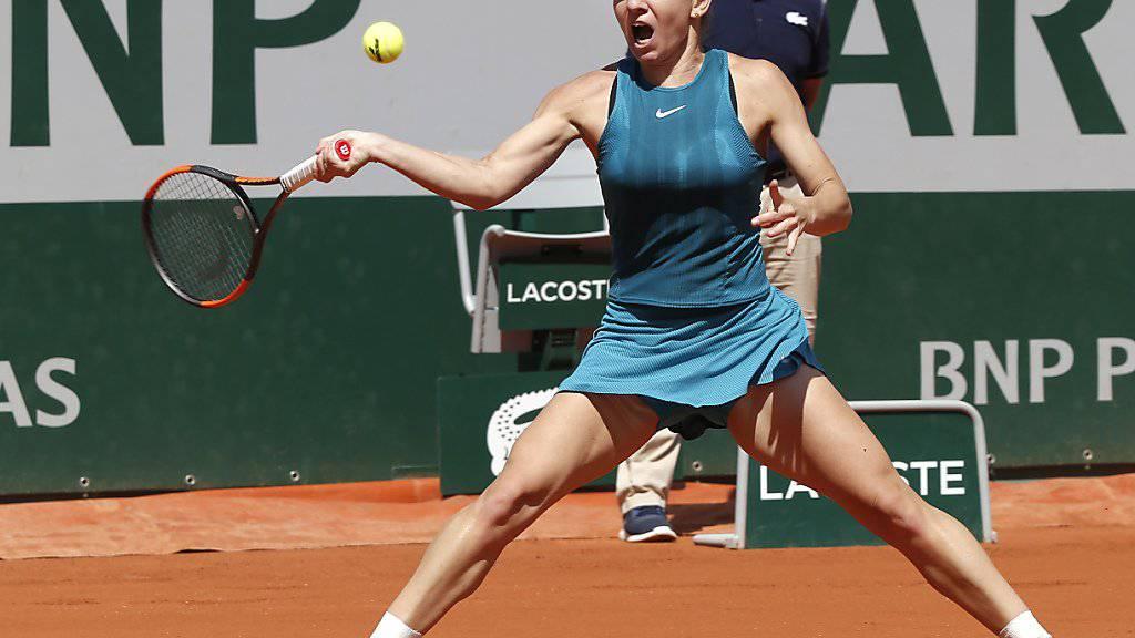 Mit starker Leistung in den French-Open-Final: Simona Halep