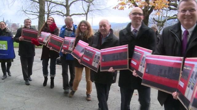 Eine Petition kämpft für den Erhalt der Solothurn-Moutier-Bahn