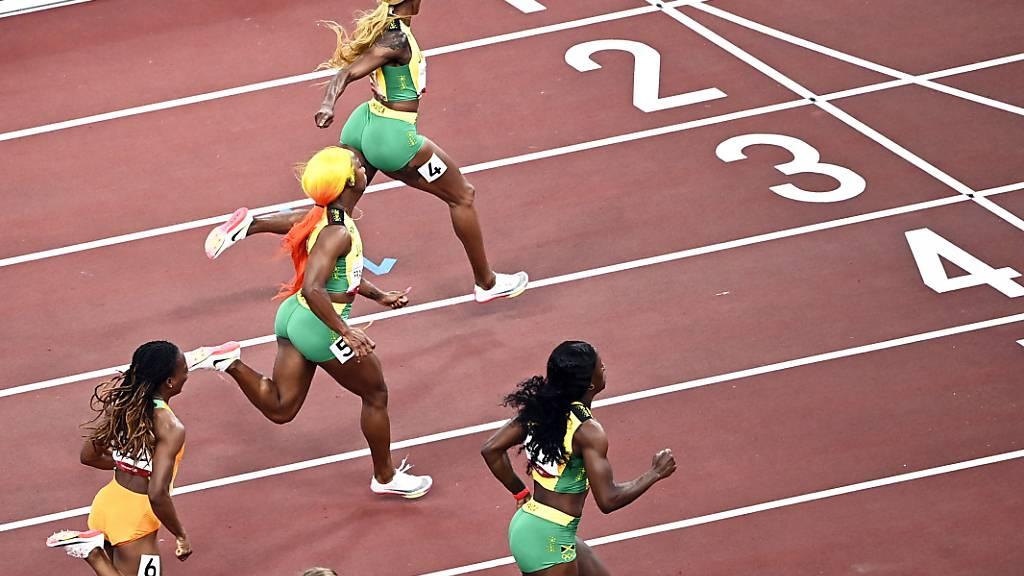 Fast wie in Tokio: Die ersten sechs des 100-m-Finals starten auch in Lausanne
