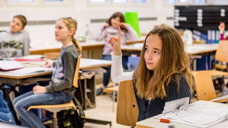 13'000 Schüler des dritten Primarschuljahres sind einem standardisierten Leistungscheck unterzogen worden. (Symbolbild)