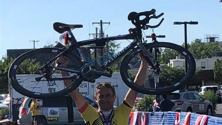 Mario Müller hat in 8 Tagen rund 1600 Kilometer zurückgelegt.
