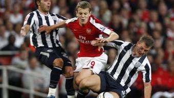 Arsenal setzte sich gegen West Bromwich durch