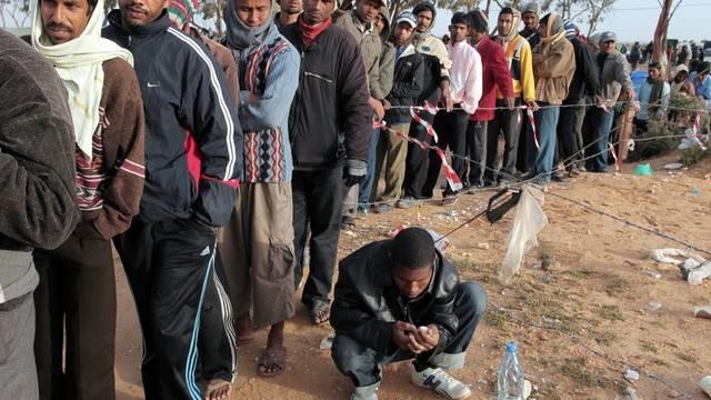 Flüchtlinge in Tunesien (Archiv)