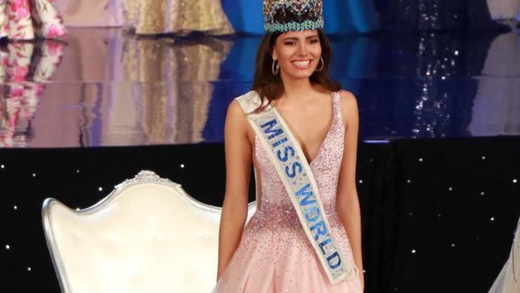 Stephanie Del Valle setzte sich gegen 116 Konkurrentinnen im Rennen um den Titel Miss World durch.