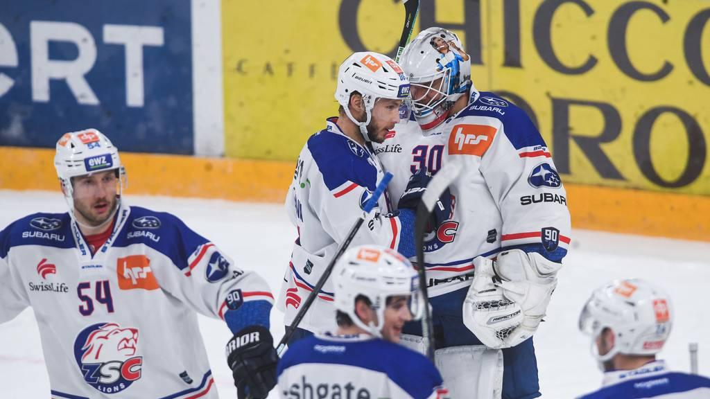 Starkes Startdrittel: ZSC Lions besiegen Lugano mit 5:1