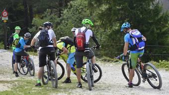 Biker auf dem Weissenstein müssen auf die endgültige Variante ihrer Strecke noch länger warten.