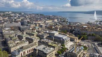 Eine Genfer Privatbank wirbt für ein Steuerexil: Die Rohnestadt von oben (Archivbild).