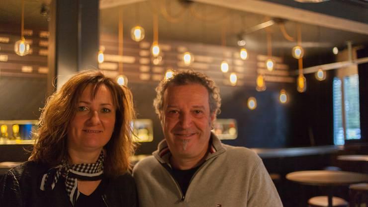 Ariane und Markus Schamberger in ihrem neusten Werk, dem Lokal «Konservi».