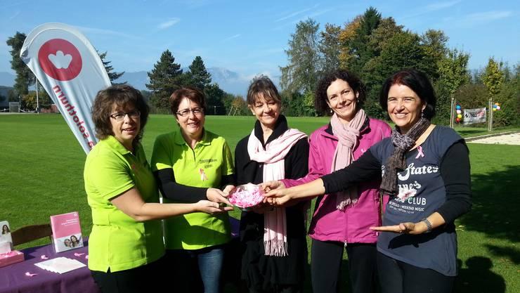 Turnerinnengruppe/Krebsliga Solothurn/Frauenverein Horriwil
