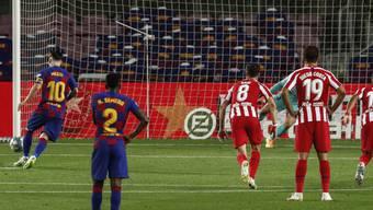 Per Penalty-Chip zum Jubiläumstreffer: Lionel Messi erzielt sein 700. Karriere-Tor
