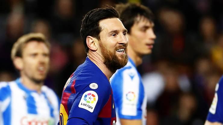 19. Saisontor und 1:0-Sieg: Wieder einmal war Lionel Messi der Matchwinner für den FC Barcelona