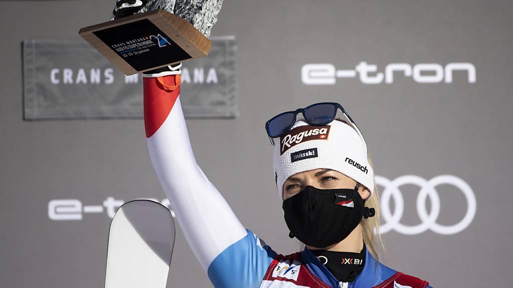 Lara Gut-Behramis Gold-Fluch könnte in Cortina enden