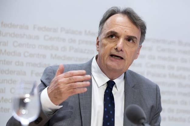 Staatssekretär Mario Gattiker nimmt am Freitag gleich an zwei Konferenzen teil.