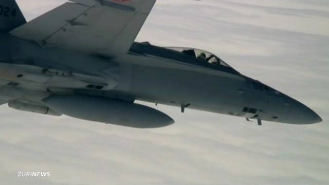 Wieder ein Kampfjet weniger