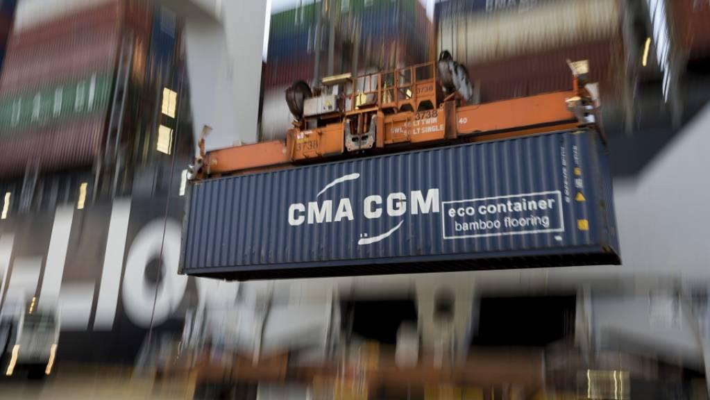 Der Handelskrieg mit den USA belastet Chinas Aussenhandel schwer. (Archiv)
