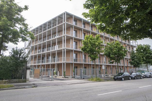 Da das Bundesasylzentrum Bässlergut durch einen Neubau erweitert wird, wurde die Zivilschutzanlage bereits im November 2019 eröffnet.
