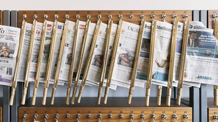 """""""Endlich hat der Bundesrat den Reset-Knopf gefunden"""": Die Schweizer Presse zum Entscheid des Bundesrats über das EU-Rahmenabkommen. (Symbolbild)"""