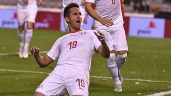 Mario Gavranovic war der Mann des Spiels bei den Schweizern. Sieben Minuten nach seiner Einwechslung traf er sogleich zum 1:1.
