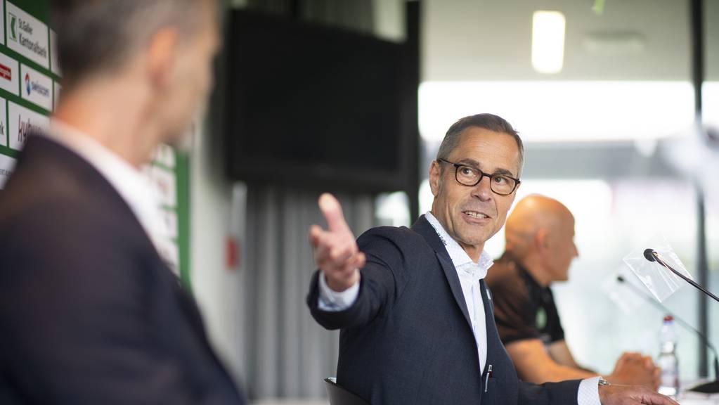 FCSG-Präsident Matthias Hüppi