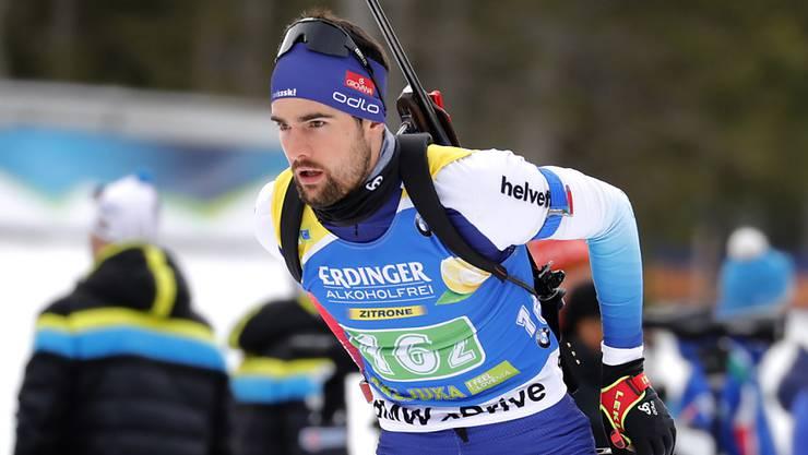 Bester Schweizer in Pokljuka: Mario Dolder lief auf den 26. Platz