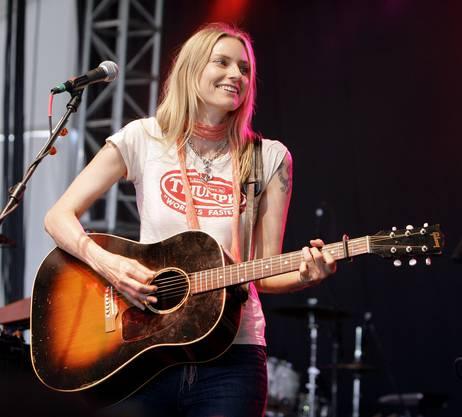 Ein akustisches Konzert geben wird die US-Singer/Songwriterin Aimee Mann.