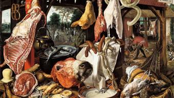 Ein Gemälde von P. Aertsen von 1551 zeigt den Stellenwert des Fleisches.