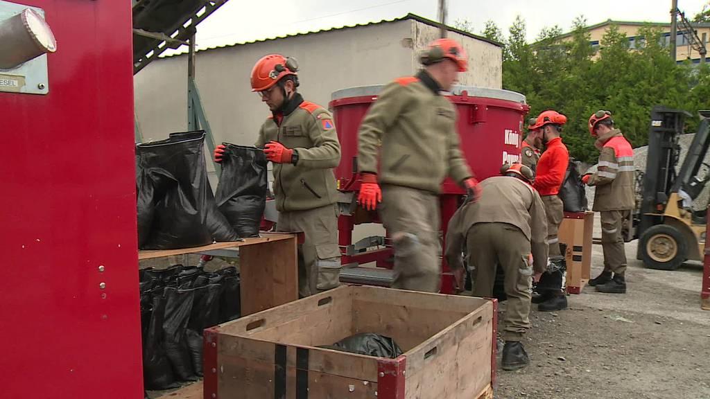 Vorbereitungen: Thurgauer Gemeinden richten Sandsäcke