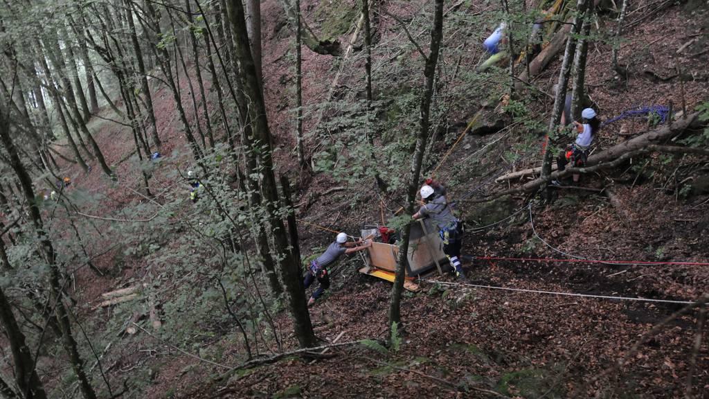 Transportbahn-Unfall in Innerthal war menschliches Versagen