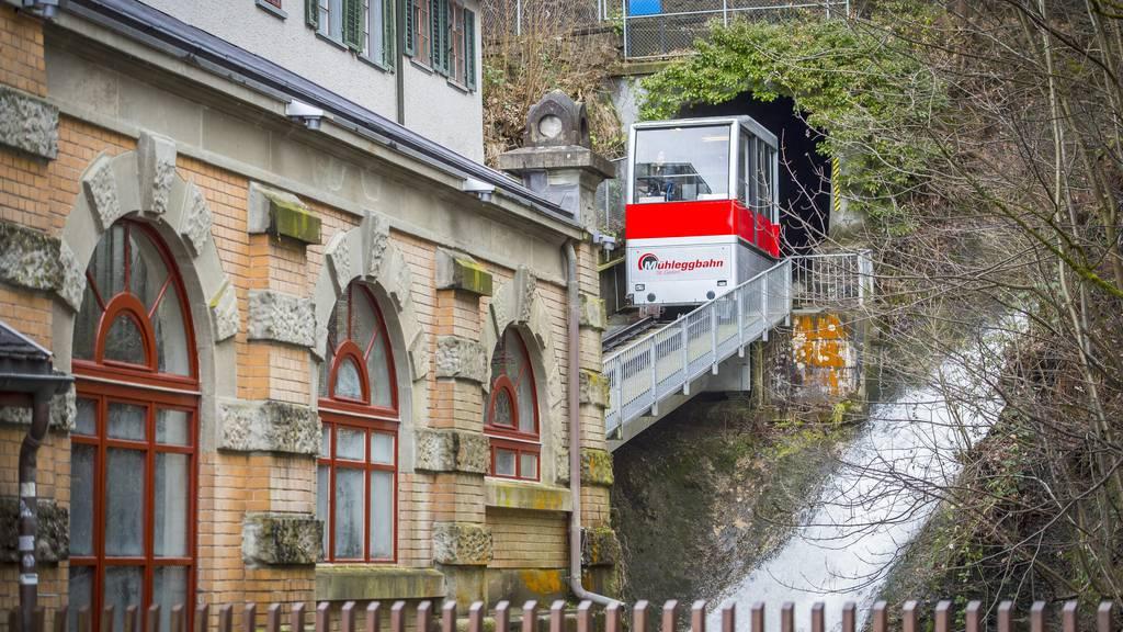Für die Sanierung der Mühleggbahn fehlt noch Geld.