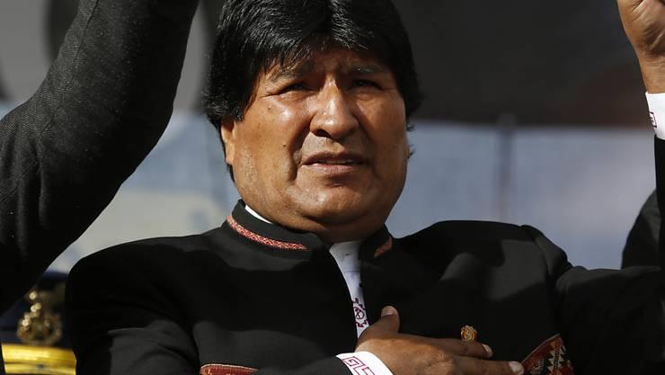 Blickt einer Niederlage ins Auge: Boliviens Präsident Evo Morales soll laut den Stimmberechtigten keine weitere Amtszeit anstreben können.