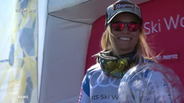 Gesamtweltcup-Sieg für Lara Gut