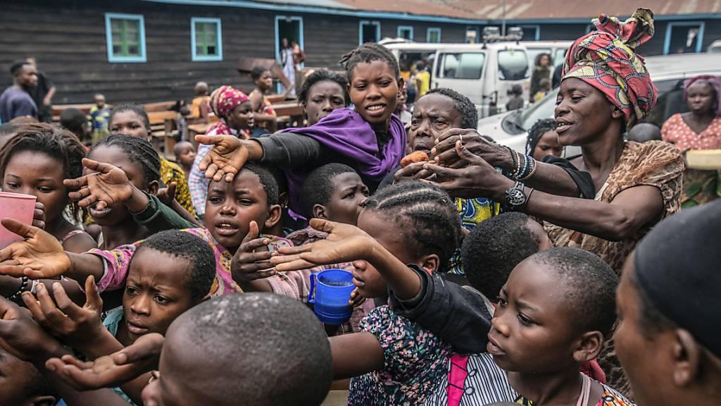 Nach Vulkanausbruch droht eine humanitäre Katastrophe rund um Goma