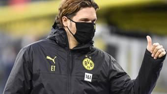 Lucien Favres Nachfolger Edin Terzic kam mit Borussia Dortmund im dritten Spiel zum zweiten Sieg