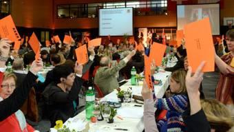 Die CVP-Delegierten sprachen sich für die Kantonale Vorlage aus. (Archiv)