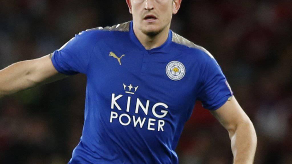 Harry Maguire wechselt britischen Medienberichten zufolge für 80 Millionen Pfund von Leicester City zu Manchester United