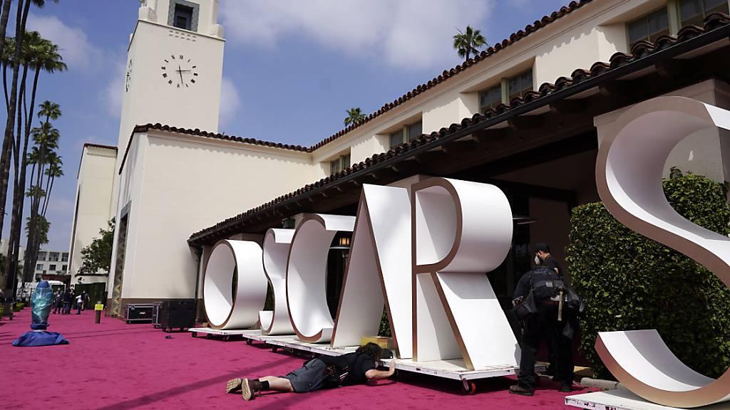 Oscars werden verliehen - mehrere Bühnen für Live-Auftritte