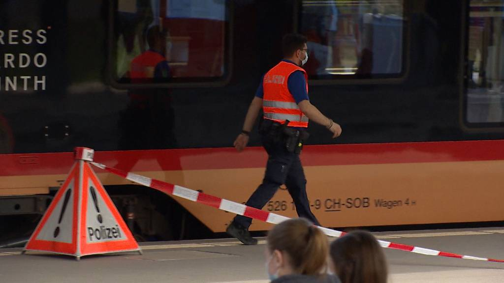 Wattwil (SG): Mann in Zug mit Messer attackiert und unbestimmt verletzt