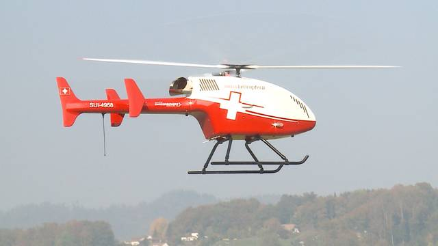 «Swiss Helicopter» lanciert Superdrohne