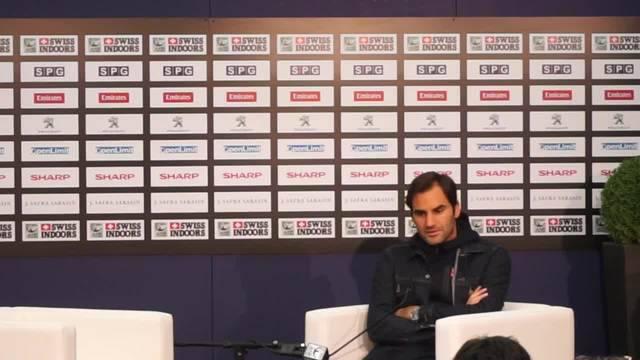 Roger Federer über seine Aufschlagschwäche