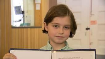 Ein belgisch-niederländischer Schüler schaffte im Alter von acht Jahren die Maturaprüfungen.