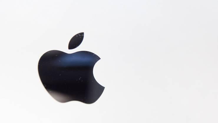 Unter dem Apple-Logo läuft künftig auch ein Streaming-Dienst für Musik (Archiv)
